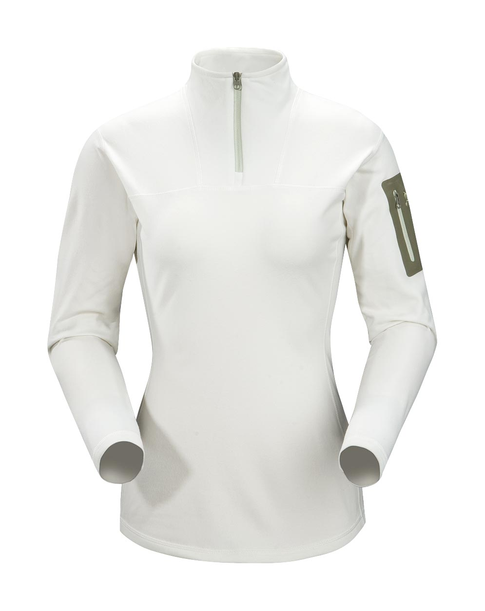 Arcteryx White Tea Rho LT Zip